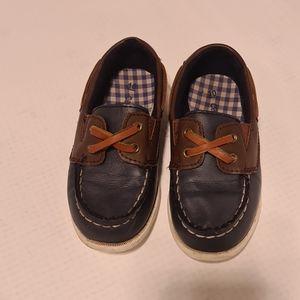 Carter's Boat Shoes Navy Blue US 10 EU 27